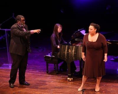 Eric Owens, pianist Tomoko Nakayama - Deborah Nansteel (Photo: Jati and Lindsay)