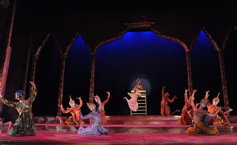 "The cast performing  the ""Small House of Uncle Thomas"" Ballet. (Photo: Stan Barouh)"
