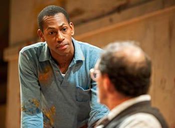 Eric Berryman as Ken and Bruce Randolph Nelson as Mark Rothko. (Photo: Clinton Brandhagen)