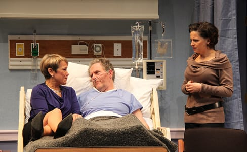Naomi Jacobson (Rita), John Lescault (Ben), and Kimberly Gilbert (Lisa)  (Photo: Danisha Crosby)