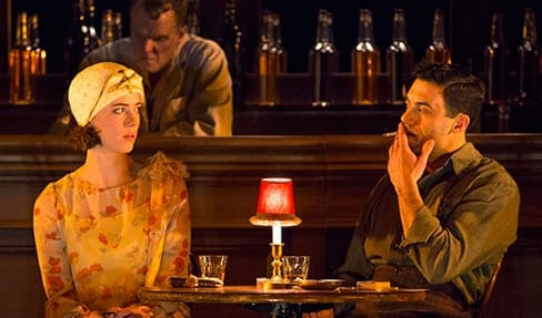 Rebecca Hall and Morgan Spector in Machinal. (Photo: Joan Marcus)