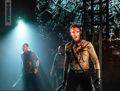 The Donmar Warehouse produciton of Coriolanus by William Shakespeare