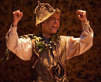 Matthew Pauli as Rumplestiltskin (Photo: Margot Schulman)
