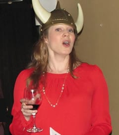 Co-founder Kristina Riegle (photo courtesy of Opera on Tap DC)