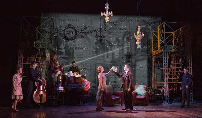 The cast in Kneehigh's U.S. tour of Brief Encounter (Photo: Jim Cox)