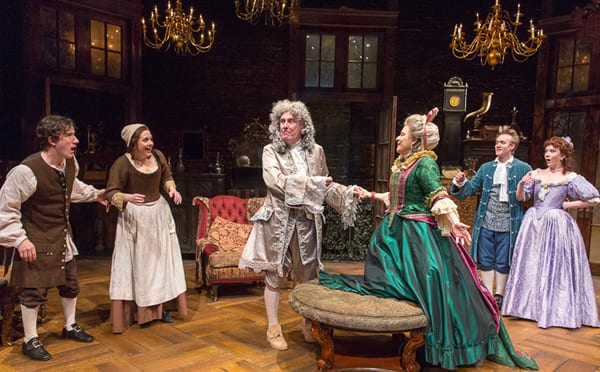 The cast of The Heir Apparent (Photo: Richard Termine)