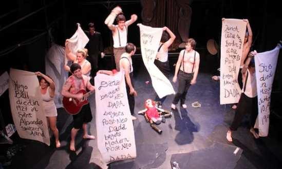 Hugo Ball: A Super Spectacular Dada Adventure (Fall Fringe, 2011).