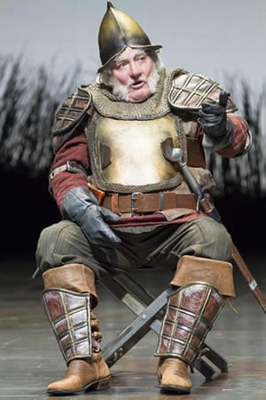 Stacy Keach as Falstaff in the Shakespeare Theatre Company production of Henry IV, Part 1 (Photo: Scott Suchman)