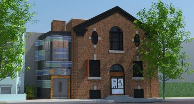 Rendering of the new Andrew Keegan Theatre Click for a video walkthrough