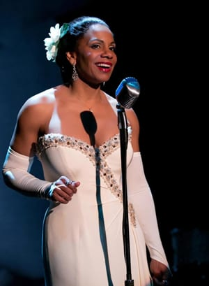 Audra McDonald as Billie Holliday in Lady Day at Emerson's Bar and Grill