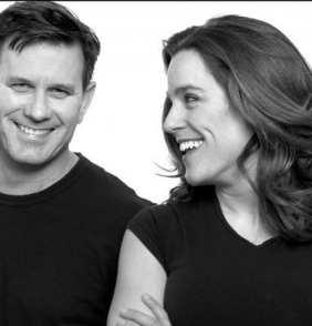 Co-Artistic Directors of Keegan Theatre: Mark A. Rhea and Susan Marie Rhea