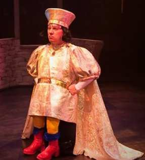 Jeffrey Shankle as Lord Farquaad (Photo: Kirstine Christiansen)