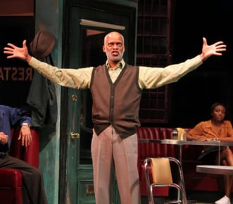 Michael Anderson Williams as Holloway in Two Trains Running (Photo: Danisha Crosby)