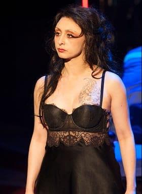 Natascia Diaz as Jenny in Signature Theatre's production of The Threepenny Opera (Photo: Margot Schulman)