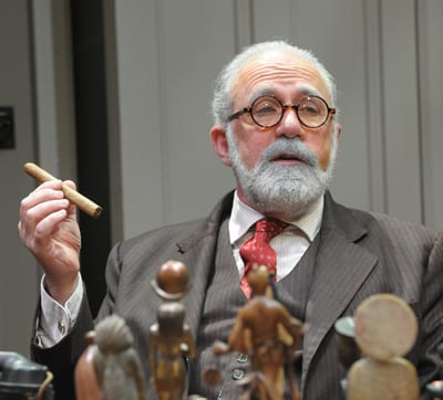 Rich Foucheux as Sigmund Freud (Photo: Stan Barouh)