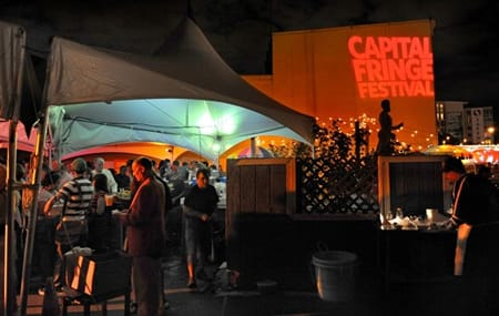 Capital Fringe will move its popular Baldacchini tent to its new facility in 2014