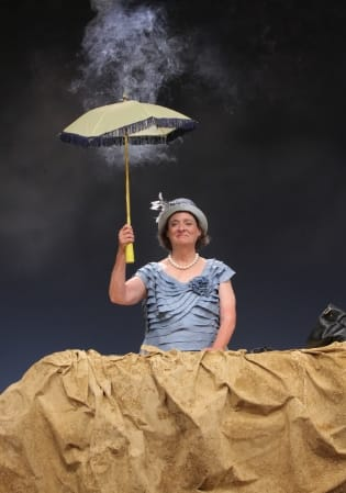 Nancy Robinette as Winnie in SCENA Theatre's Happy Days (Photo: Don Summers, Jr)