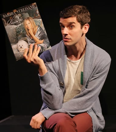 Michael Urie in Buyer and Cellar (Photo: Joan Marcus)