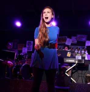 Madeline Botteri and musicians (Photo by Scott Selman, CYM Media & Entertainment.)