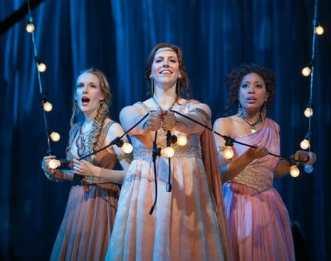 (l-r) Jeni Houser as Naiad, Beth Lytwynec as Dryad and Jacqueline Echols as Echo (Photo: Karli Cadel/The Glimmerglass Festival)