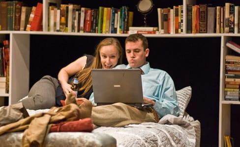 Rachel Manteuffel and Matthew Sparacino (Photo: Brian S. Allard)