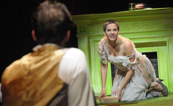 Kimberly Gilbert as Marie Antoinette (Photo: Stan Barouh)