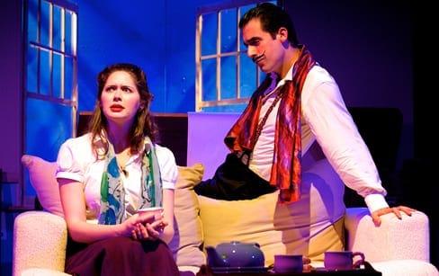 Jenny Donovan as Alice and Zachary Fernebok as Dali (Photo: Ryan Maxwell)