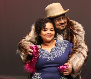 Colette Williams and Chad Carter, Ain't Misbehavin' (Photo: India Soodoo)