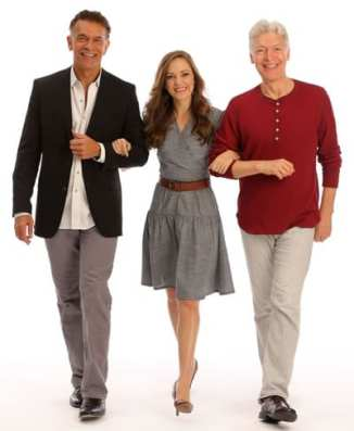 Brian Stokes Mitchell, Laura Osnes and Tony Sheldon (Promotional photo by Joan Marcus)