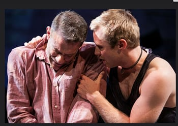 Lou Libertore and  Josh Adams (Photo: C. Stanley Photography)