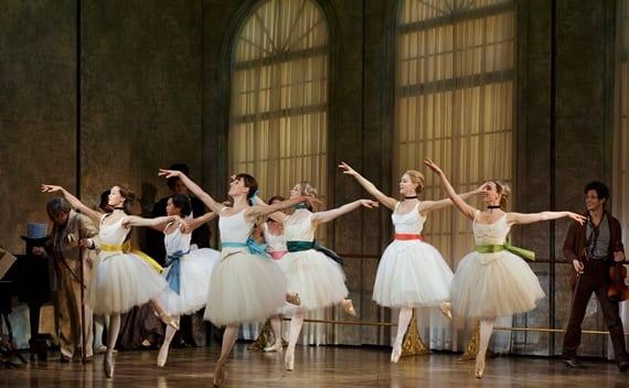 Tiler Peck and Company in Little Dancer. (Photo by Paul Kolnik)