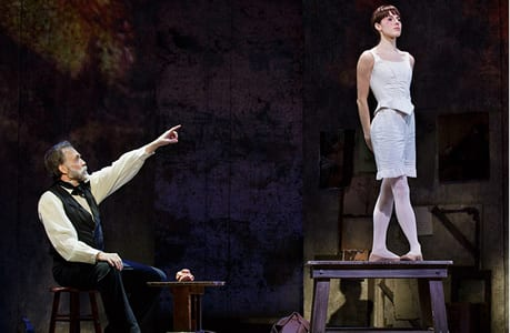 Boyd Gaines and Tiler Peck in Little Dancer, (Photo: Paul Kolnik)