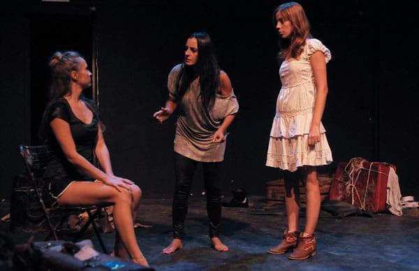 The cast of Pasos al Azar (Photo: Veronica Dominguez)