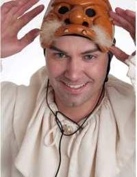 Matthew R. Wilson as Scapino (Photo: Clinton Brandenhagen)
