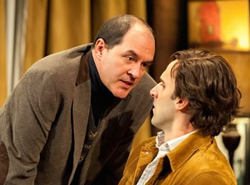 (l-r) Bruce Randolph Nelson as Sidney Bruhl and Danny Gavigan as Clifford Anderson (Photo by ClintonBPhotography)