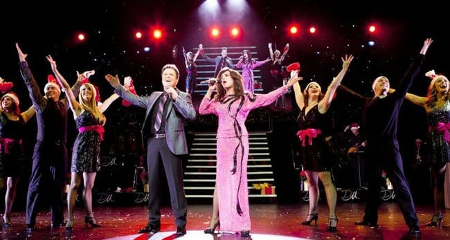 Donny and Marie Osmond and ensemble, Donny & Marie: Christmas at the National