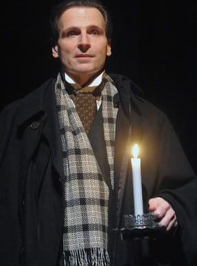 Paul Morella, A Christmas Carol (Photo: Stan Barouh)