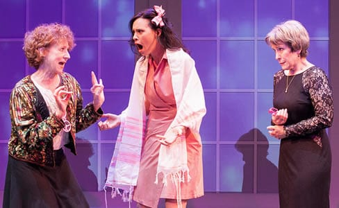 Rena Cherry Brown, Audrey Bertaux and Naomi Jacobson in G-d's Honest Truth (Photo: C. Stanley Photography)