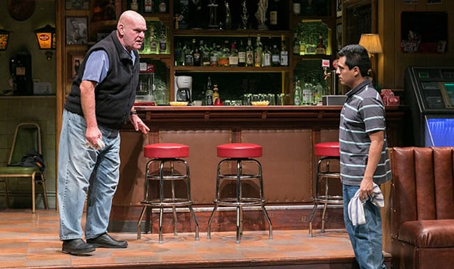 (l-r) Jack Willis as Stan and Reza Salazar as Oscar in Sweat at Arena Stage at the Mead Center for American Theater (Photo: C. Stanley Photography)