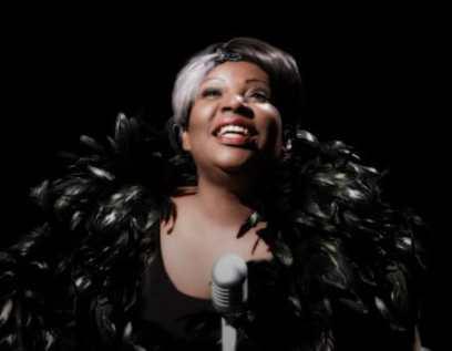 Bernardine Mitchell in Bessie's Blues at MetroStage (Photo: Chris Banks)