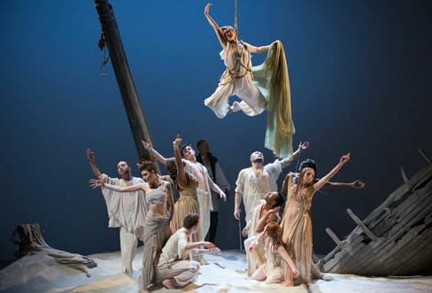 Magical sounds for The Tempest (Photo: Scott Suchman)