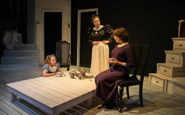 Libby Brooke, Sherri L. Edelen and Susan Derry in The Turn of the Screw (Photo: Gary Mester, Written in Light Photography