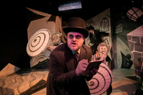 Lex Davis as Doctor Caligari (Photo: C. Stanley Photography)