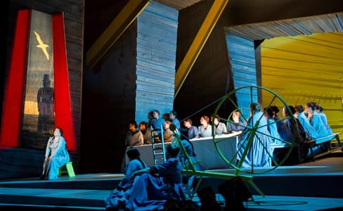 The cast of The Flying Dutchman at Washington National Oper (Photo: Scott Suchman)