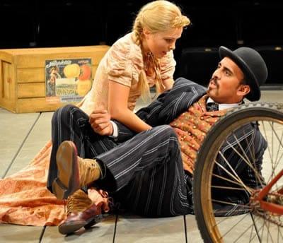 June Schreiner and Nehal Joshi in Oklahoma, Arena Stage (Photo: Carol Rosegg)