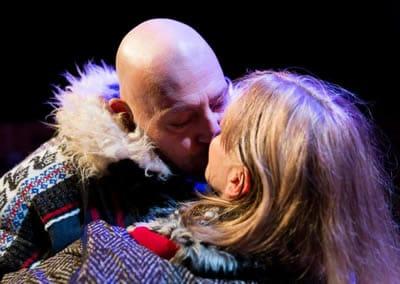 Brian Hemminsen and Nanna Ingvarsson in The Norwegians (Photo: Jae Yi Photography)