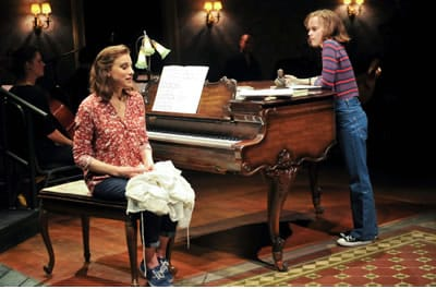 (l-r) Judy Kuhn and Sydney Lucas (Photo: Jenny Anderson)