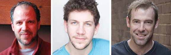 Aaron Posner, Director . Adam Wesley Brown playing Guildenstern . an Merrill Peakes playing The Player