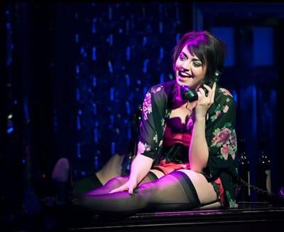 Barrett Wilbert Weed as Sally, Cabaret at Signature Theatre (Photo: Margot Schulman)