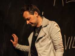Markus Kyd as Hamlet in Hamlet, the First Quartro (Photo: C. Stanley Photography)